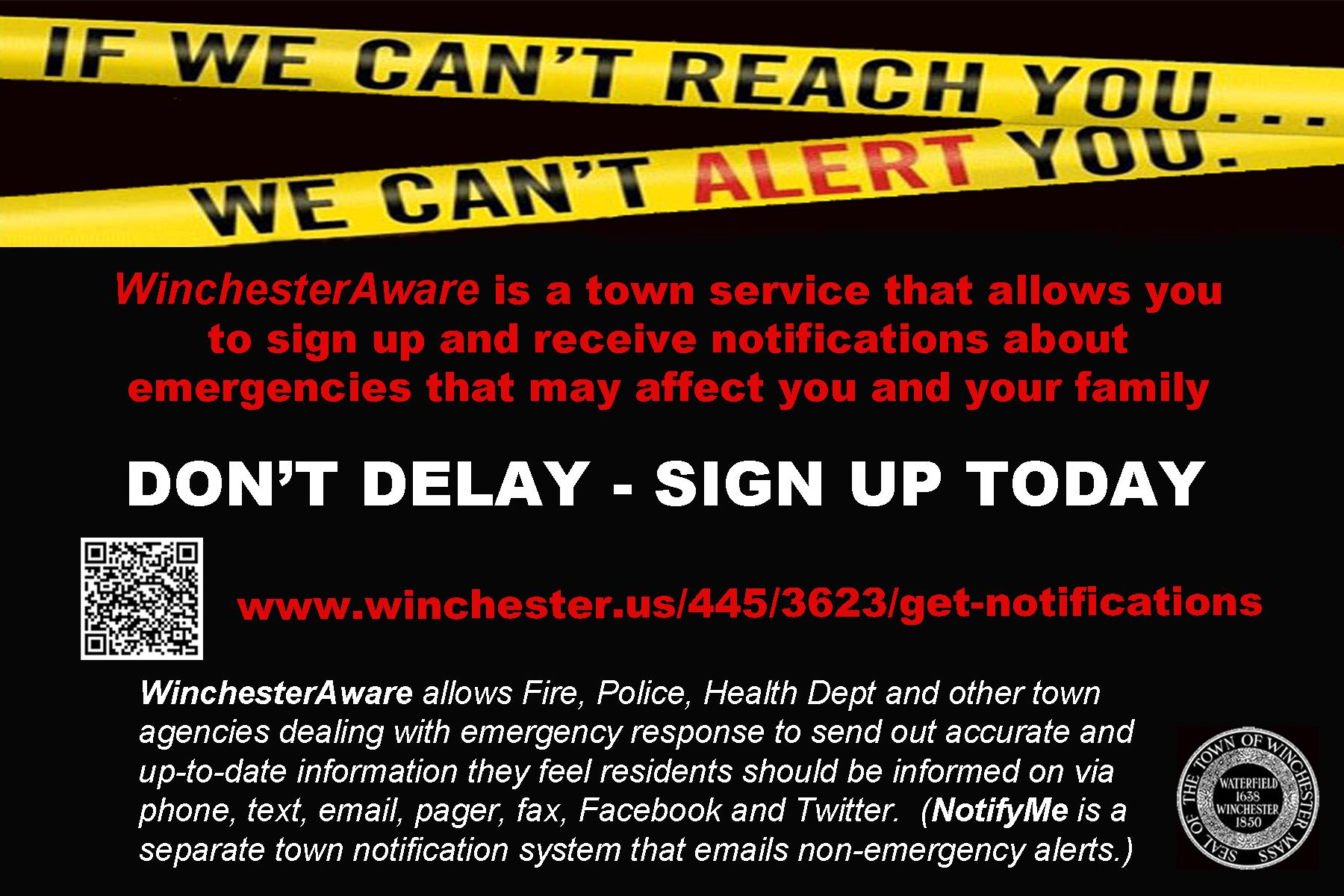 WinchesterAware Promotion